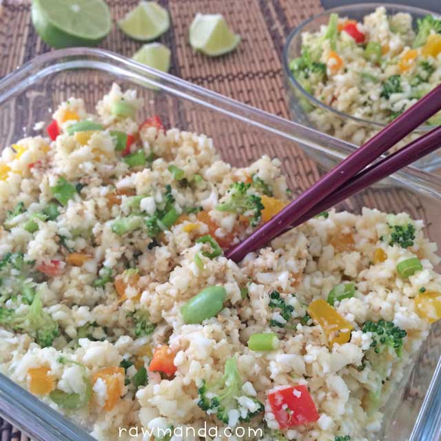 cauliflower-fried-rice-raw-vegan-lowfat-recipe
