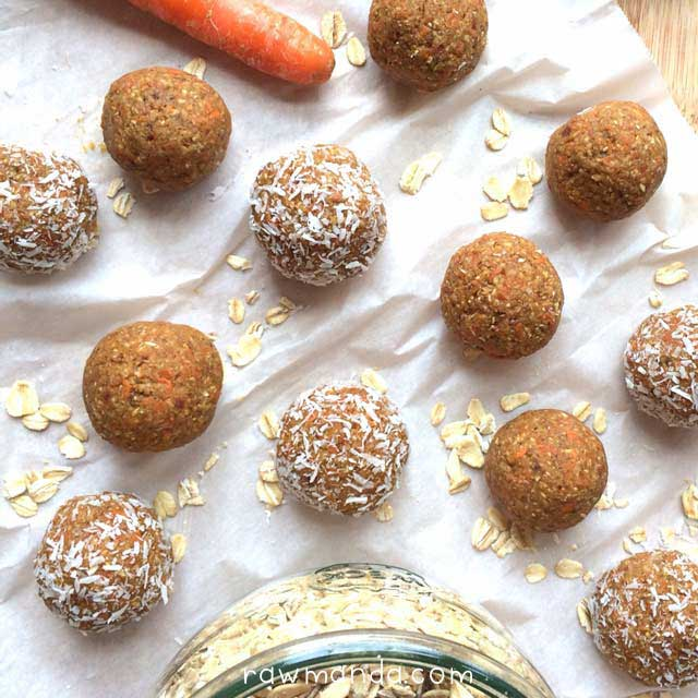 raw-vegan-nut-free-carrot-cake-bites-lowfat-recipe-oats