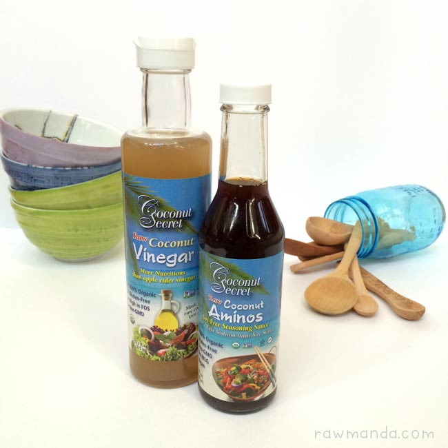 Coconut Secret Product Review Coconut Aminos Vinegar