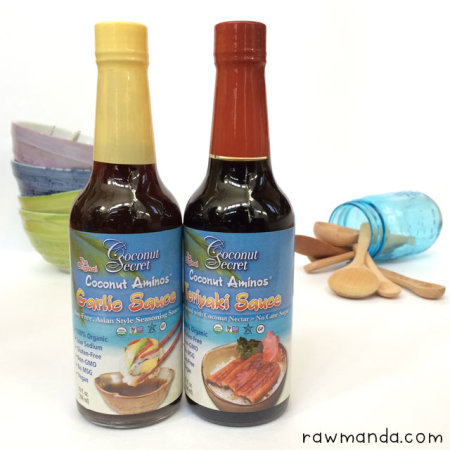 Product Review | Coconut Secret Garlic Sauce and Teriyaki Sauce
