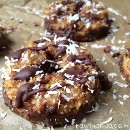 eBook Update + Raw Samoas Girl Scout Cookie Preview