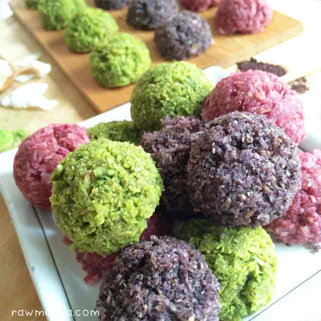 Raw matcha raspberry acai macaroons recipe macaroons raw coconut lowfat vegan recipe healthy2 forumfinder Gallery
