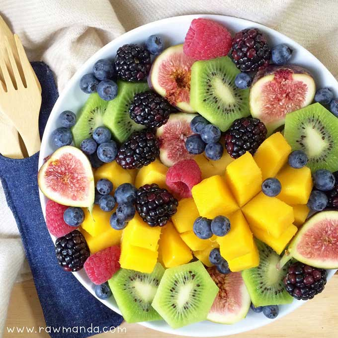 My vegan story raw vegan fruit platter forumfinder Choice Image